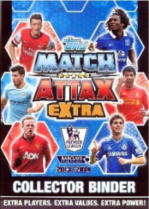 Topps English Premier League 2013-2014. Match Attax Extra