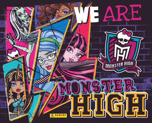Panini We Are Monster High