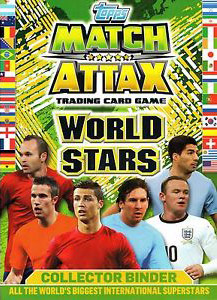 Topps Match Attax World Stars 2014