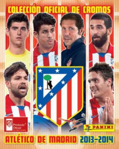 Panini Atletico de Madrid 2013-2014