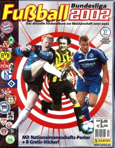 Panini German Football Bundesliga 2001-2002