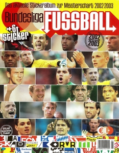 Panini German Football Bundesliga 2002-2003