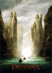 Topps The Lord of the Rings. The Fellowship of the Ring