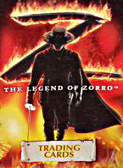 The Legend of Zorro. Trading Cards