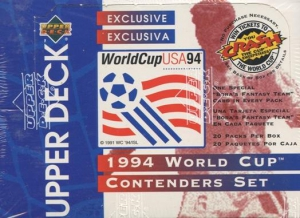 Upper Deck World Cup USA 1994. Contenders English/Spanish