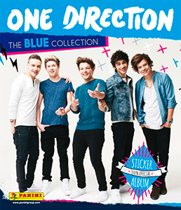 Panini One Direction. The Blue Collection