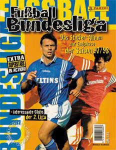 Panini German Football Bundesliga 1997-1998. Final phase
