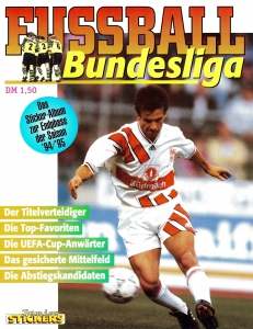 Panini German Football Bundesliga 1994-1995. Final phase