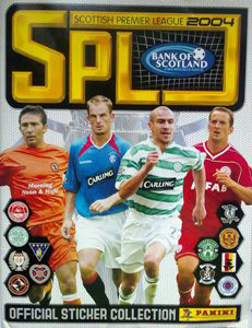 Panini Scottish Premier League 2003-2004