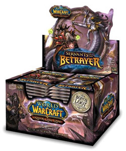 Upper Deck World Of Warcraft: Servants of the Betrayer