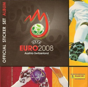 UEFA Euro Austria-Switzerland 2008. Mini sticker-set
