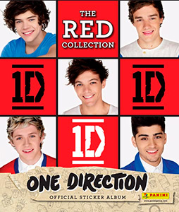 Panini One Direction: The Red Collection