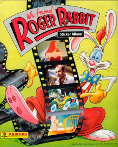 Panini Who framed Roger Rabbit
