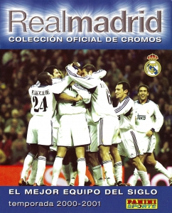 Panini Real Madrid 2000-2001