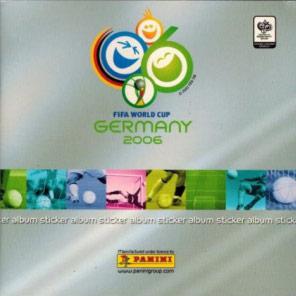 Panini FIFA World Cup 2006 Germany. Mini sticker-set