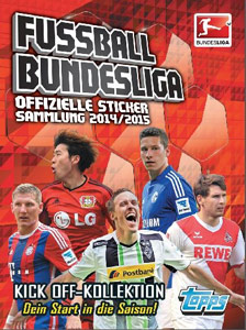 Fussball Bundesliga 2014-2015. Kick Off-Kollektion