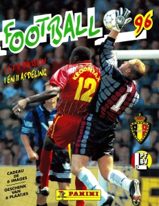 Panini Football Belgique 1995-1996