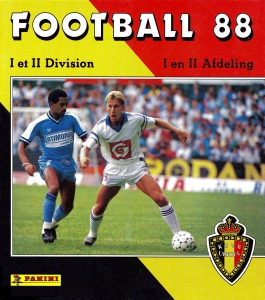 Panini Football Belgique 1987-1988