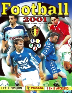Panini Football Belgique 2000-2001
