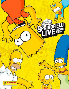 Panini The Simpsons: Springfield Live