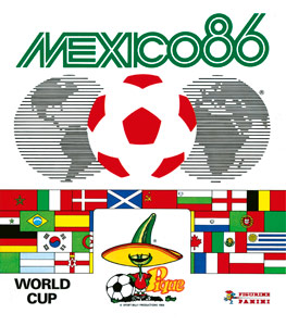 Panini FIFA World Cup Mexico 1986