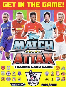 English Premier League 2014-2015. Match Attax