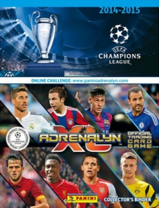 UEFA Champions League 2014-2015. Adrenalyn XL