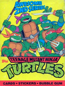 Topps Teenage Mutant Ninja Turtles 2nd Series