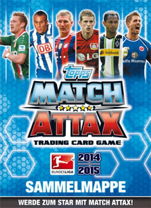Topps German Fussball Bundesliga 2014-2015. Match Attax