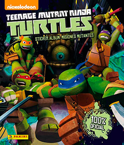 Panini Teenage Mutant Ninja Turtles 2