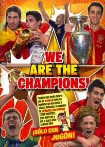 Panini We are the champions!