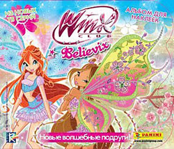Panini Winx Club Believix