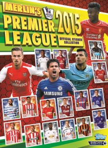 Topps Premier League inglesa 2014-2015