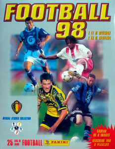 Panini Football Belgique 1997-1997