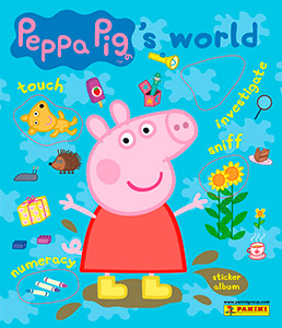 Panini Peppa Pig's World