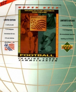 Upper Deck World Cup USA 1994. Preview English/German