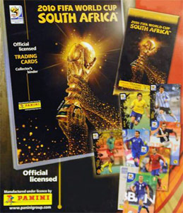 Panini FIFA World Cup South Africa 2010. Premium cards