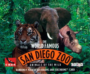 Cardz The World Famous San Diego Zoo