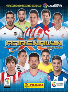 Panini Liga BBVA 2014-2015. Adrenalyn XL
