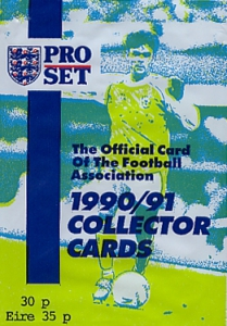Pro Set English Football 1990-1991