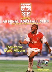 Futera Arsenal Fans' Selection 1997-1998