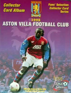Futera Aston Villa Fans' Selection 1998