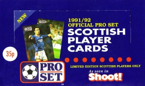 Pro Set Scottish Football 1991-1992