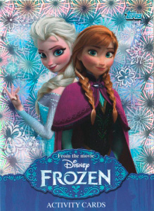 Topps Disney Frozen Activity Cards