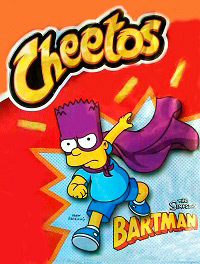 Cheetos The Simpsons: Bartman