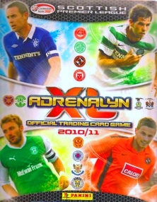 Panini Scottish Premier League 2010-2011. Adrenalyn XL