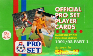 Pro Set English Football 1991-1992