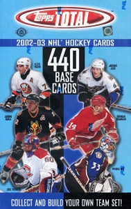 Topps Total 2002-2003