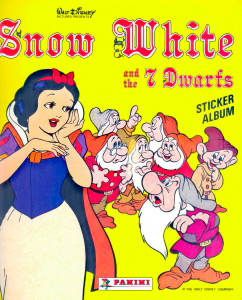 Panini Snow White and the 7 Dwarfs