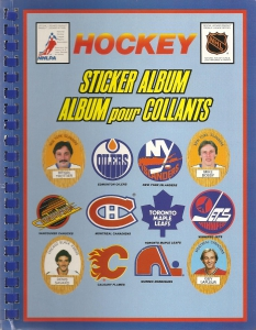 Funmate NHL Hockey Puffy Sticker 1983-1984